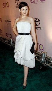 Ginnifer Goodwin at the 20th Anniversary Environmental Media Awards