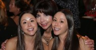 49ers Co-Chair Denise DeBartolo York (center) with daughters Mara York (left) and Jenna York (right)
