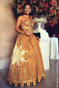 Marybeth La Motte in Escada at Opera Ball 1997