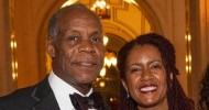 Danny Glover with his wife Eliane Cavallerio