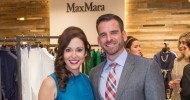 Marybeth La Motte and Ryan Williams at Saks Fifth Avenue for Max Mara