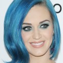 Katy Perry's Color-blocked hairstyle