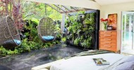 Just one of Jamie Durie's own backyard spaces at his LA residence