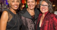 Deborah Santana with 2013 MoAD honoree Dr. Sandra Hernandez and Viviana Paredes