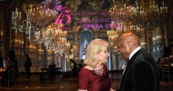 Dede Wilsey and Willie Brown onstage at the War Memorial Opera House