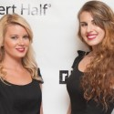 Jen Lazorack and Sarah Snitselaar at Dress for Success