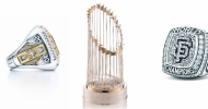 Tiffany & Co. World Series Trophy and Rings
