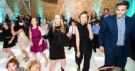 Stephanie Breitbard and The Family Gala Co-chair Stacey Silver on the dance floor