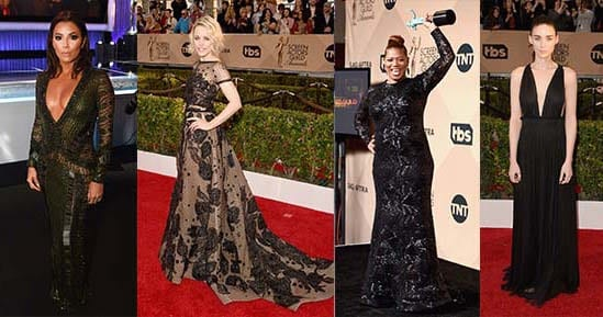 Red Carpet Style at the SAG Awards