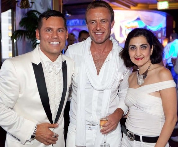 Mark Calvano S White Party Summer 2010 Red Carpet Bay Area
