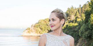 Sharon Stone at Hotbed in Tiburon