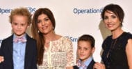 James Nicholas and Matt Nicholas with Smile Gala Co-chairs Shab Farzaneh and Shirin Aryanpour