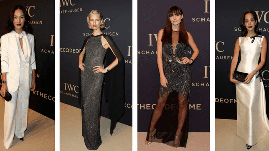 """IWC Schaffhausen at SIHH 2017 """"Decoding the Beauty of Time"""" Gala Dinner"""