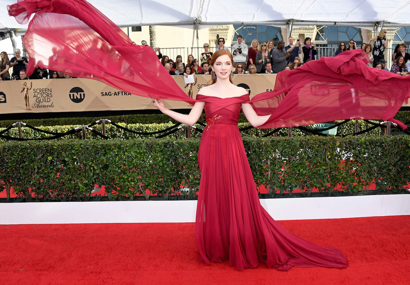 What is it About a Woman in Red? Red Carpet Bay Area