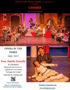 Bay Shore Lyric Opera Free Opera in the Park Series @ Wildwood Park | Saratoga | California | United States