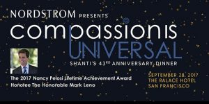 Shanti's 43rd Anniversary Compassion Is Universal Dinner