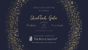 ChickTech Gala 2017 @ The Ritz-Carlton | San Francisco | California | United States