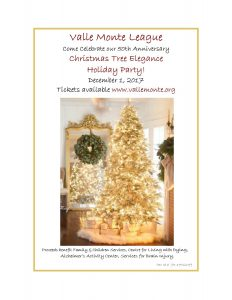 Valle Monte League 50th Anniversary of Christmas Tree Elegance @ Santa Clara Convention Center | Santa Clara | California | United States