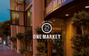 One Market Restaurant, 25th Anniversary, Red Carpet Bay Area