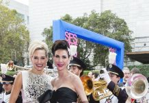 SF Symphony Gala Co-chairs Rachael Bowman and Nicole Lacob